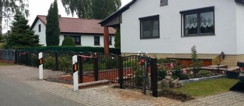 Ogrodzenie Neu Grambow Niemcy